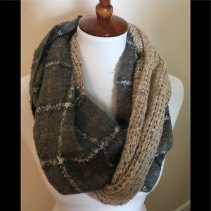 Anthropologie mixed media scarf
